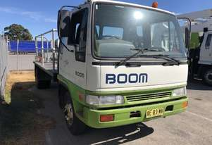 2000 HINO FD2J WITH 1995 STEELCO TRAVEL TOWER