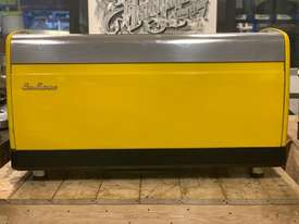 SAN MARINO LISA 3 GROUP YELLOW ESPRESSO COFFEE MACHINE - picture5' - Click to enlarge