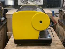 SAN MARINO LISA 3 GROUP YELLOW ESPRESSO COFFEE MACHINE - picture9' - Click to enlarge