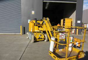 Used 2008 Haulotte HA12IP 34ft Electric Knuckle Boom