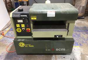 SCM S63B Thicknesser with Spiral Head