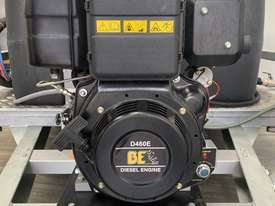 Dustless Blaster Dual Axle Mobile unit - picture2' - Click to enlarge
