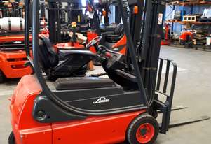 Used Forklift:  E16C Genuine Preowned Linde 1.6t