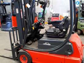 Used Forklift:  E16C Genuine Preowned Linde 1.6t - picture0' - Click to enlarge