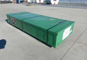 LOT # 0196 Single Trussed Container Shelter PVC Fa