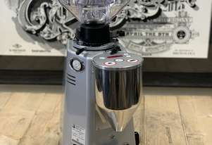 MAZZER MAJOR ELECTRONIC SILVER DEMO ESPRESSO COFFEE GRINDER