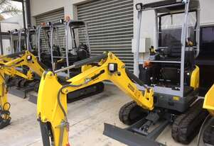 WACKER NEUSON EZ17QH EXCAVATOR 5 YEAR 5000HR WARRANTY