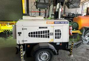 Used 2015 PR Power PR4000 4000 Watt Light Tower for Sale , 1413.00 hrs, Newcastle NSW