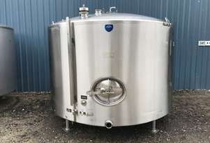 Stainless Steel Jacketed Tank 5,700ltr, Milk Vat