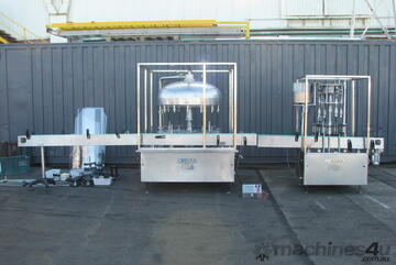 14 Head Bottle Filler Filling and Capper Line - Brightriver GFX