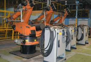 Kuka KR 120-2 P 2000 Robot System with Controller and teach pendant 3.5m Reach