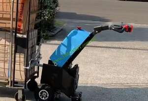 Pedetrian Tow Tug - Upright 24v/50ah Lithium Battery, Removable Charger & Remote Control, 1500kg