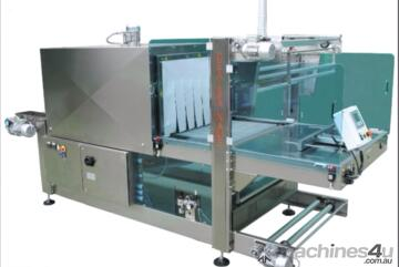 SHRINK SLEEVE WRAPPING MACHINES  H80 INOX -SA