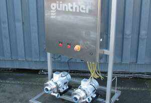 Stainless Steel Dual Food Pump System - Gunther