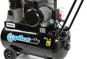 TM325i+ Pilot Air Compressor 50 Litre Tank / 2.5hp 11.2cfm / 318lpm Piston Displacement