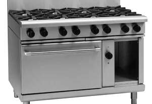 Waldorf 800 Series RNL8819GEC - 1200mm Gas Range Electric Convection Oven Low Back Version