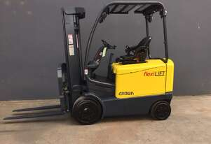Crown FC4500 Container Mast Electric Counterbalance Forklift - Fully Refurbished