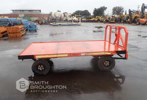 2015 ROPSWEST DUAL AXLE BAGGAGE CART
