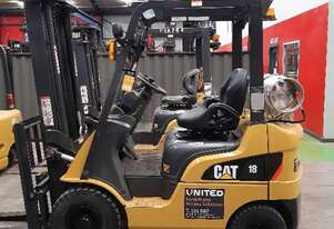 Used 1.8T Cat LPG Forklift GP18NT