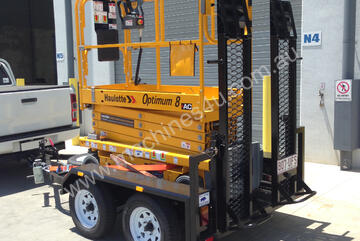 Haulotte Electric Scissor Lift & Trailer Package | Floor Stock Available!