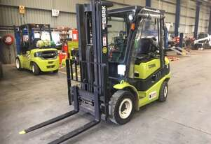 Dual Fuel Windscreen and Curtain 2.5t CLARK Forklift