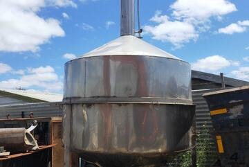 distillery stainless vat / tank / hopper