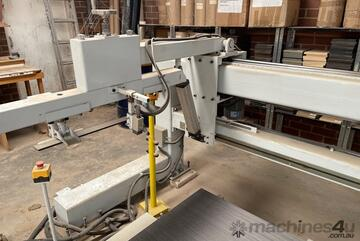 200T LONGITUDINAL THROUGHFEED HOT PRESS (1300*3200 PLATEN) LINE FOR SALE