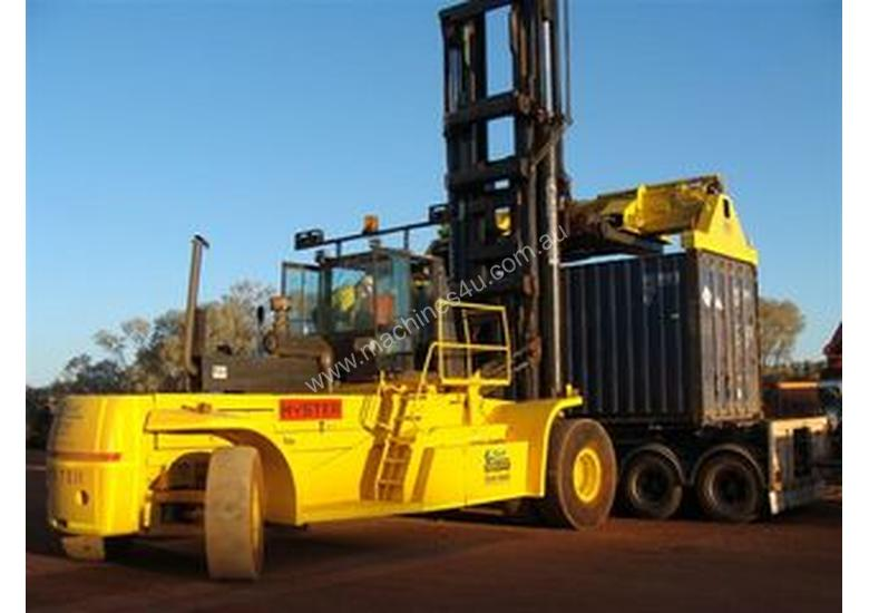 Hyster 36ton fully laden container handler