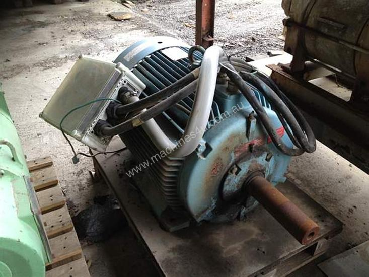 Used abb hxr250mb b3 electric motor in laverton north vic for Two speed electric motor