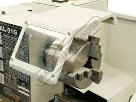 AL-51G Bench Lathe 230 x 500mm Turning Capacity - 20mm Spindle Bore - picture3' - Click to enlarge