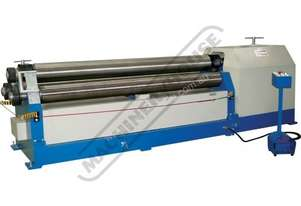 PR-2512 Motorised Plate Curving Rolls 2550 x 12mm Mild Steel Capacity Includes Section Rolls