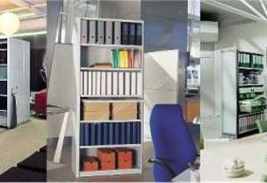 Dexion Mobile Office Storage Systems