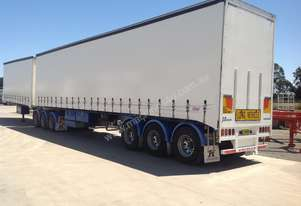 Used 2005 Krueger 34 Pallet Curtainsiders
