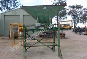 Custom Built Sand bag filling conveyor