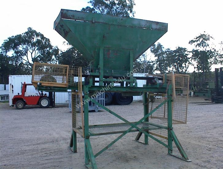 Used Custom Built Electric Drive Sand Bag Filler Sand