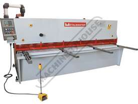 HG-3212 Hydraulic NC Guillotine 3200 x 12mm Mild Steel Shearing Capacity 1-Axis Estun E21S Control & - picture0' - Click to enlarge
