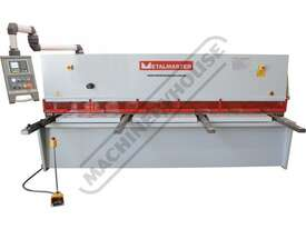 HG-3212 Hydraulic NC Guillotine 3200 x 12mm Mild Steel Shearing Capacity 1-Axis Estun E21S Control & - picture2' - Click to enlarge
