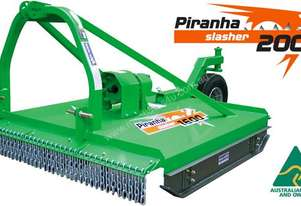 Piranha Single Rotor Slasher's – 4 Models