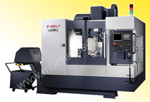LEADWELL V-40iT 5 AXIS VERTICAL MACHINING CENTRE