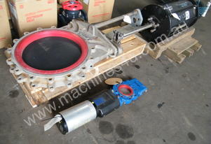Keystone knife valves knife valve