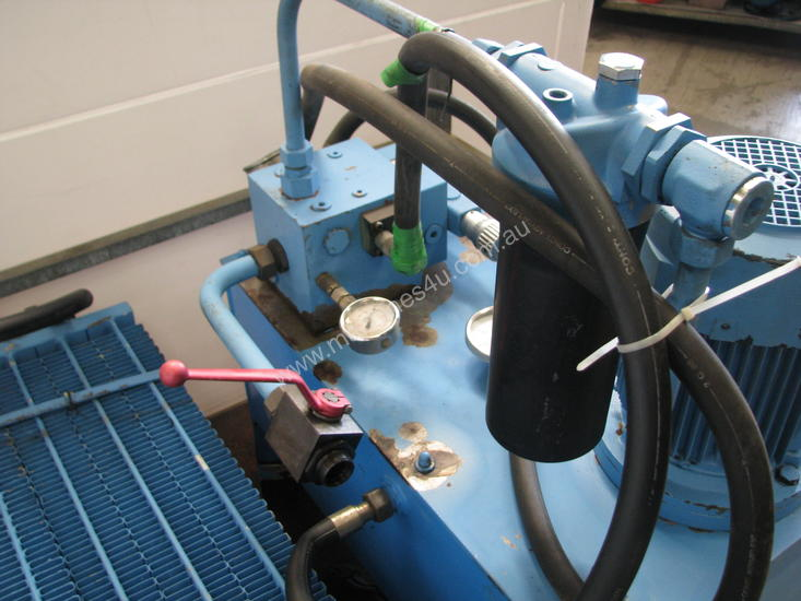 Bosch Hydraulic Oil Coolers : Used bosch kw hydraulic power pack unit with cooler