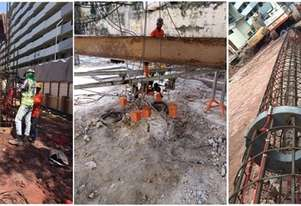 Bi-Directional Load Test Cesco Deep Foundation Equipment