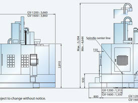 GV-1 Series  Heavy Duty Vertical Turning Centre - picture6' - Click to enlarge