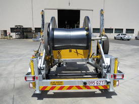 REDMOND GARY 1.5 Tonne Self Loading Cable Drum Trailer - picture3' - Click to enlarge