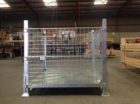 Stillage Cage Galvanised Perth Stock - picture0' - Click to enlarge