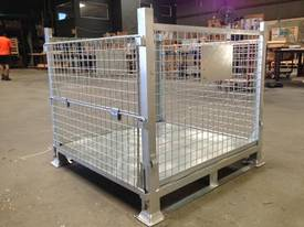 Stillage Cage Galvanised Perth Stock - picture2' - Click to enlarge