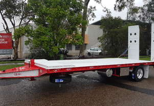 NEW 2019 FWR All Hydraulic Single Axle Tag Trailer Free Freight SYD / MEL