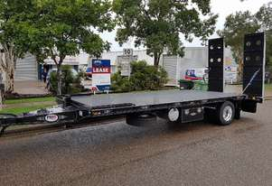 NEW 2020 FWR All Hydraulic Single Axle Tag Trailer