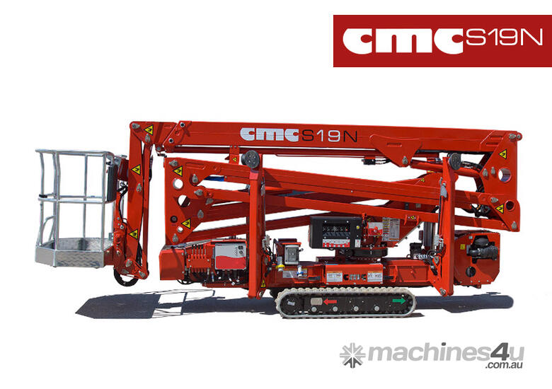 2019 CMC S19N Narrow Access Spider Lift