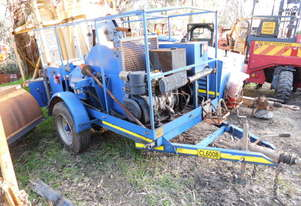 50Kn cable winch , 2cydiesel , 2012 model , 1 left in stock